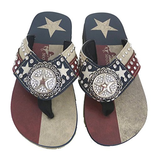 montana-west-ladies-flip-flops-texas-lone-star-flag-navy-blue-8-m-us