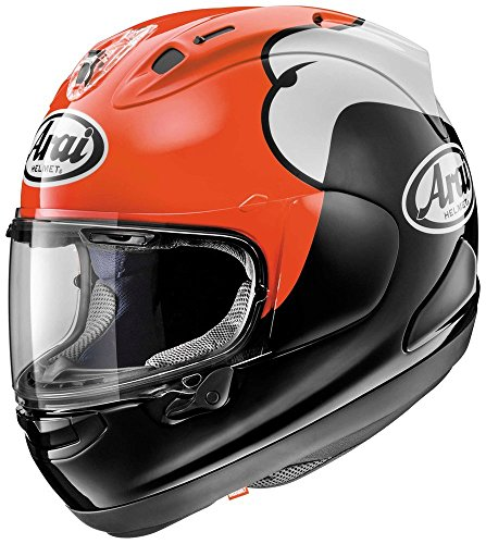 (Arai Corsair-X KR-1 Red Motorcycle Helmet MD)