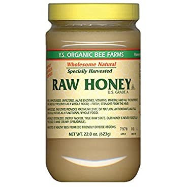 Y.S. Eco Bee Farms Raw Honey 22 oz