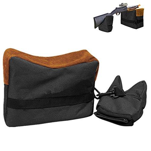 Shooting Gun Rest Bags, Unfilled Front Rear Dead Shot Sand Bag for...