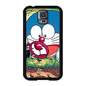 Cartoon Viking Doraemon Phone Case for Samsung Galaxy S5 I9600 Amazing Popular Anime Pattern Cover Case Comic Design Doraemon Image Back Cover