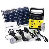 6W 6V Solar Panel Portable Solar Kit Solar Power System Camping Portable Generator