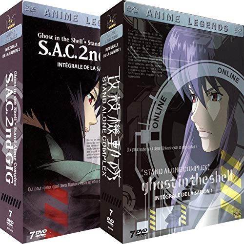 Stand Integral (Ghost in the Shell [Stand Alone Complex] - Intégrale - 2 Coffrets (14 DVD))