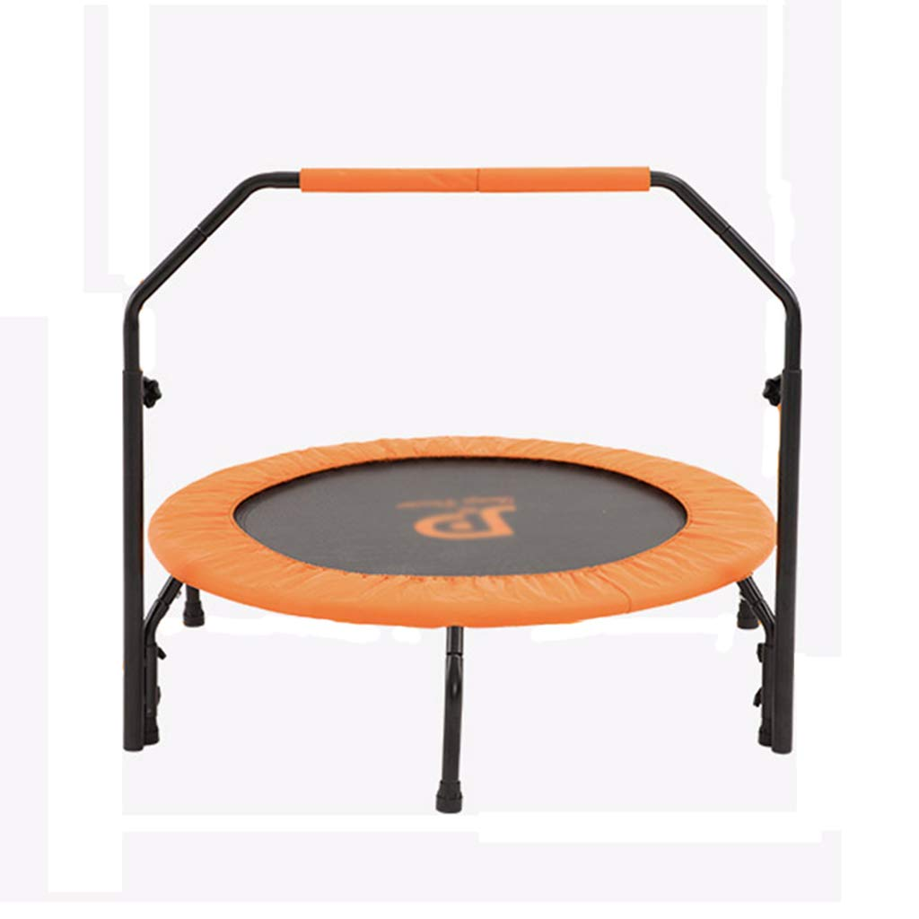 Gartentrampoline Trampolin für Hause kinderspielzeug Indoor Trampolin für Erwachsene Fitness springendes Bett Kinder springen Bett mit armlehnen Last 100kg