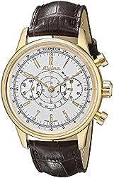 Alpina Men's AL860S4H5 Analog Display Swiss Automatic Brown Watch