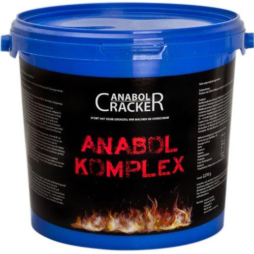 Anabol Komplex Whey Protein Shake, 2,27Kg Vanille oder Banane, Eiweißpulver Molke, Glutamin Aminosäuren Muskelaufbau
