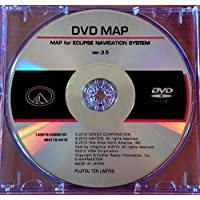 MDV-82D Eclipse Navigation Map Update DVD version 3.5 Disc for AVN-5510 AVN-6610 AVN-6620 AVN-62D and AVN-52D Navigation In-Dash Receivers