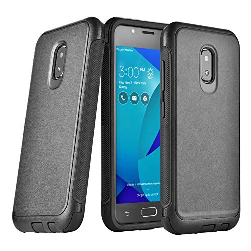 Case Rugged Heavy Duty Dual Layer Black A009 V500KL (IKON CASE) ()