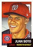 #7: 2018 Topps Living Set #43 Juan Soto Baseball Rookie Card Washington Nationals