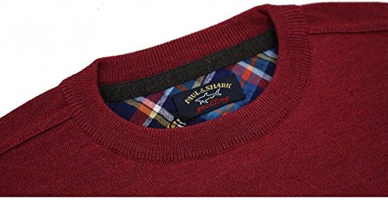 Paul & Shark Round Neck Wool Sweater - m: Odzież