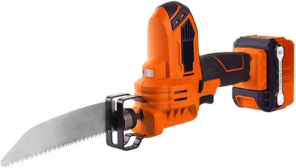 Sierra recíproca de 12 V y sierra de calar 2 en 1, cambio de velocidad continuo y cambio de herramienta sin herramientas