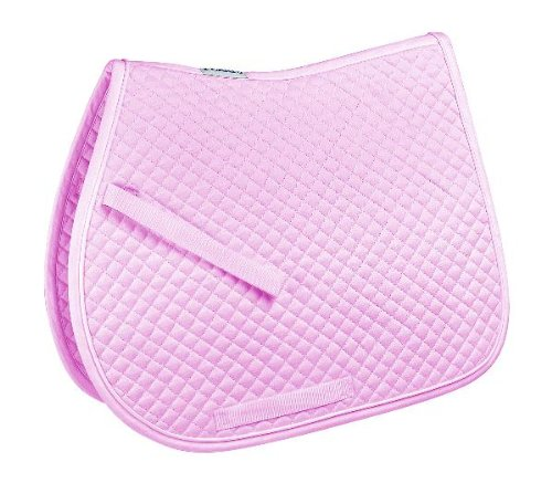 Sky bluee Perri's Pony A P Quilted Saddle Pad