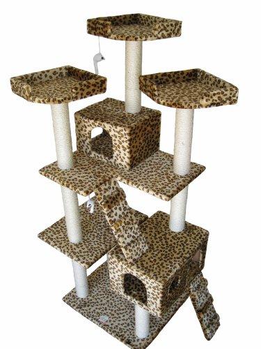 GoPetClub Cat Tree Toy Condo Scratcher Post Pet Furniture F2038, My Pet Supplies