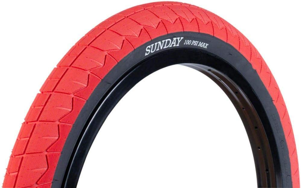 red 20 inch car tyres