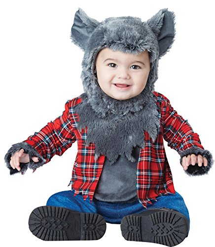 Baby Werewolf Costume (UHC Baby Boy's Wittle Werewolf Wolf Outfit Horror Theme Infant Halloween Costume, 18-24M)
