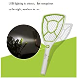 Yage Mosquito Swatter USB Rechargeable Lithium Batteries Mosquito Racket Tuba Mesh Powerful Electric Mosquito Shoot Fly Swatter