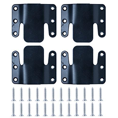 LazyMeUniversal Sectional Sofa Interlocking Sofa Connector Bracket with Hardware- 2 Sets, 4 Piece (Restoration Sectional Sofas Hardware)