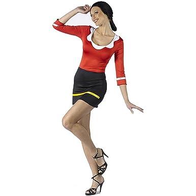 0cc31a11ddf Fun World Women's Popeye - Sexy Olive OYL Costume