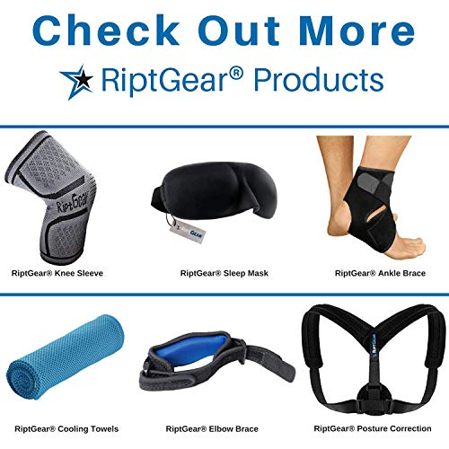 RiptGear Plantar Fasciitis Socks for Women and Men - 1 Pair Plantar Fasciitis Sleeves for Heel and Foot Pain with Ankle Compression - Small by RiptGear (Image #6)