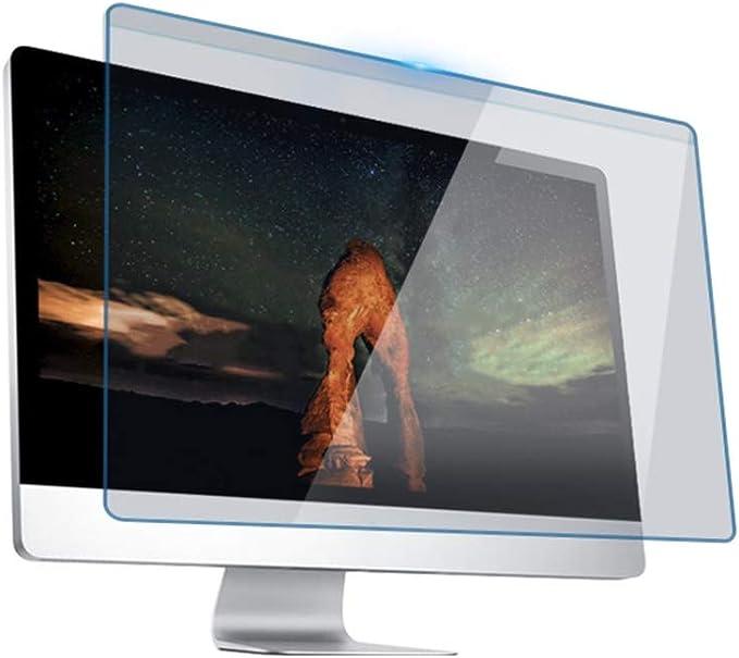 Cine ordenador, antiadherente computadora de escritorio Filtro de privacidad de pantalla antideslumbrante de Cine de Protección Aislamiento Protección de los ojos azul claro Junta Pantalla colgante cu: Amazon.es: Hogar