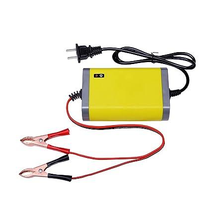 B Baosity 12V 2A Moto Coche Cargador De Batería Adaptador ...