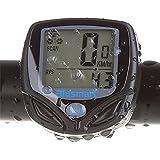 Computer da Bicicletta Wireless, Blusmart Sport Ciclocomputer senza fili impermeabile Contachilometri Biciclette Auto Wake Up con Backlight LCD per Bici, Ciclisti, Manuale Utente Inglese