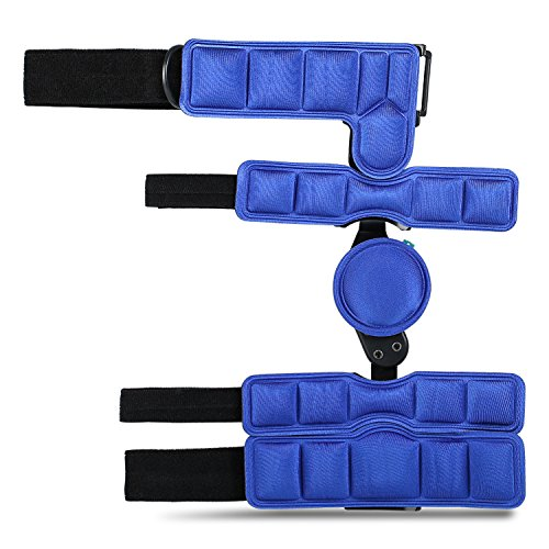 Soles Hinged Elbow Brace (Right Arm) - Support Post Op Injury Recovery, Rom Orthosis - Adjustable Range of Motion - One Size Fits All - Unisex by Soles (Image #8)