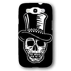 Skull with Top Hat Samsung Galaxy S3 Slim Phone Case