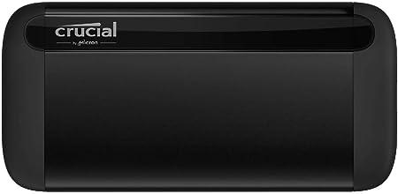 Oferta amazon: Crucial CT2000X8SSD9 X8 2 TB SSD portátil – de hasta 1050 MB/s – USB 3.2 – Unidad de estado sólido externa USB-C, USB-A