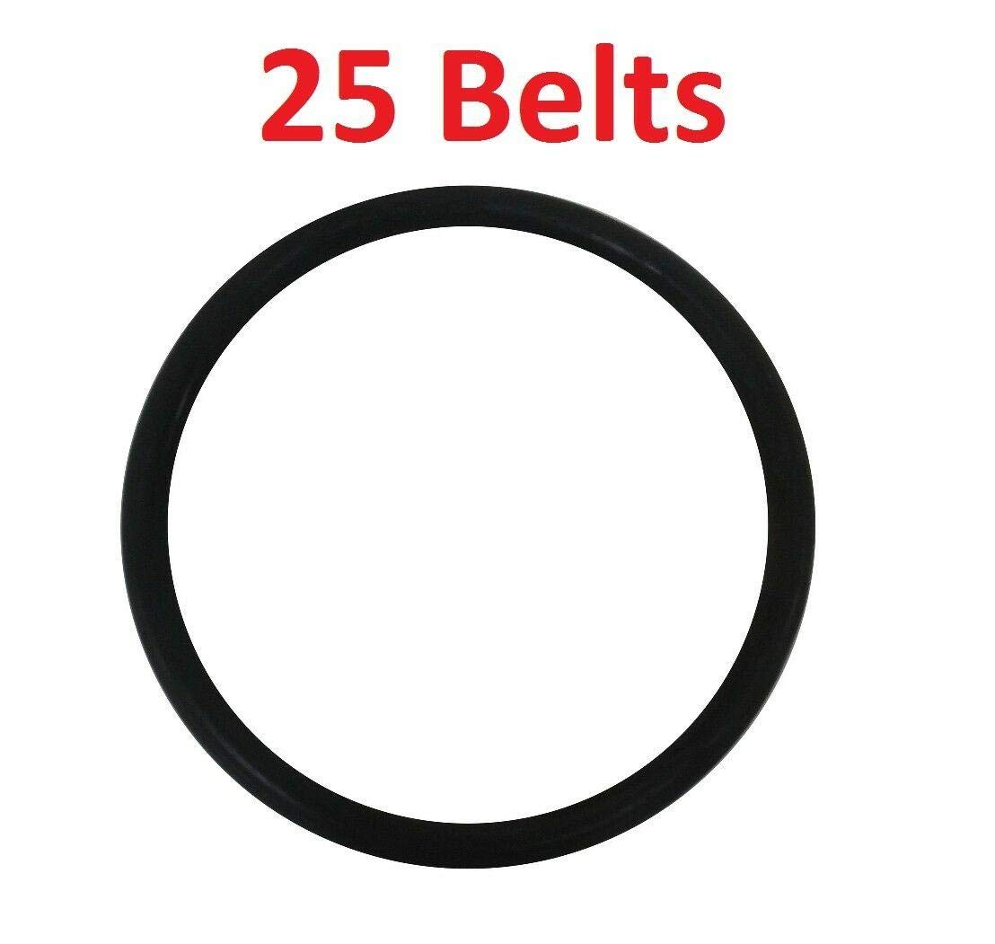 New Vacuum Pars 25 Round Belts RD for Eureka & Sanitaire Upright Vacuum 52100 - New
