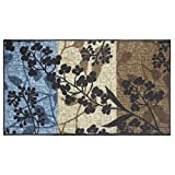 Modern Living Tulips Decorative Area Accent Rug, 26 by 45-Inch
