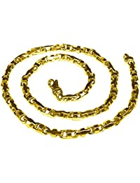 """14K Solid Yellow Gold Heavy Anchor Bullet Link Chain Necklace 6.5 Mm 18""""-30"""" (11170"""