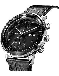 Men's Automatic Watch Multi-Function Mechanical Watch Dual Time Analog Wristwatch Calendar Casual Dress Watches...