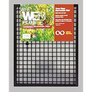 Furnace Filter 16x25x1 By Web Plus Wp1625 Replacement