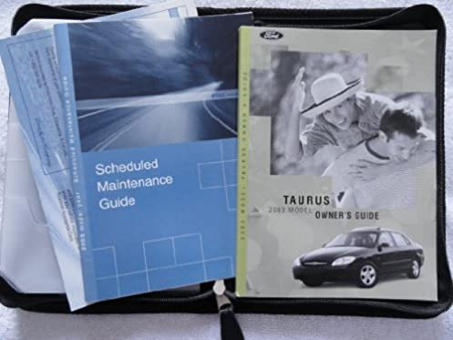 2003 ford taurus owners manual ford amazon com books rh amazon com 2003 ford taurus service manual 2000 taurus owners manual pdf