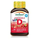 Jamieson Kids Chewable Vitamin D 400 IU