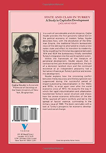 state and class in turkey a study in