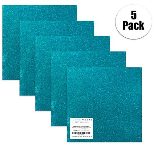 Turner Moore Edition, Teal Blue-Green Glitter Vinyl, 12