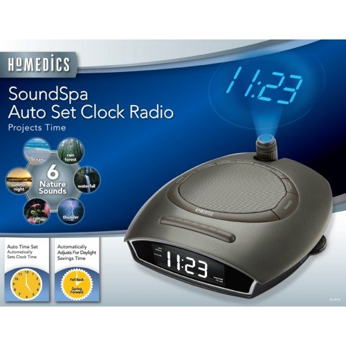 Homedics Ss-4510 Soundspa Autset Clock