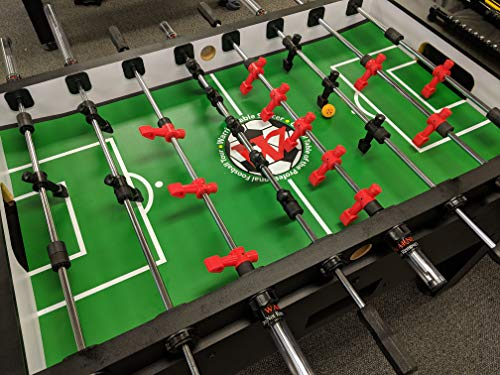 Warrior Table Soccer Pro Foosball Table 2020 Model 56 Inch Black