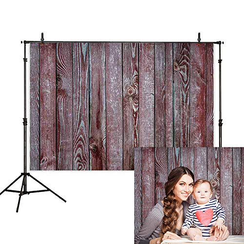 Allenjoy 7X5ft Flower Wooden Floor Photography Backdrop Wedding Wood Flat Lay Photographic Background Faux Panel Texture Board Tabletop Photo Studio Props Banner