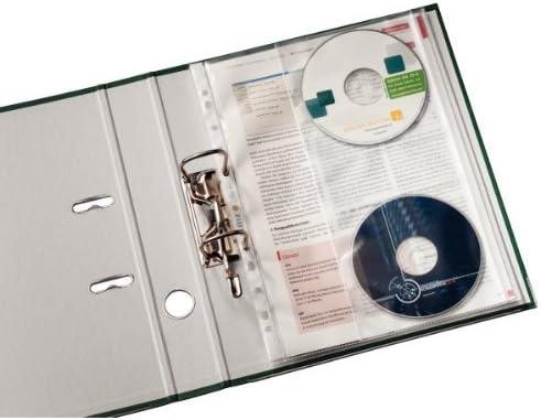 Leitz 47613003 Busta con Custodia per CD 5 Pezzi A4