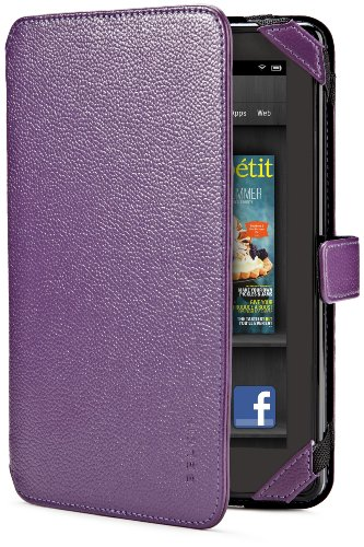 (Belkin Verve Tab Folio for Kindle Fire, Purple (will not fit HD or HDX models))