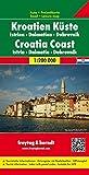 Croazia costa 1:200.000
