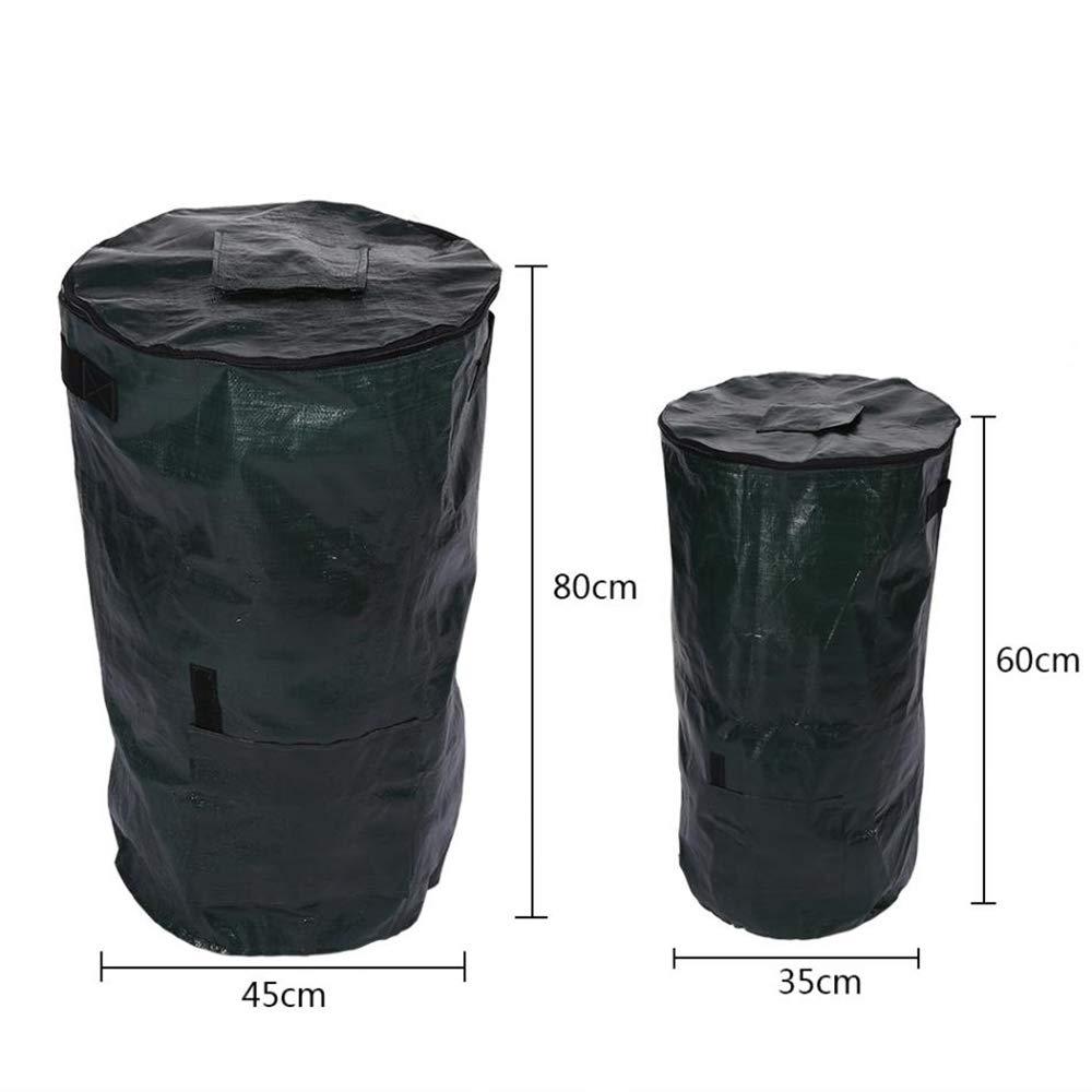 Cubo de basura para abono de fermentación orgánica, para el jardín ...