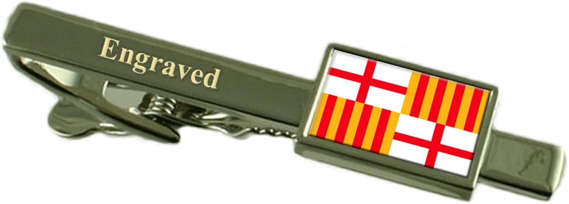 Select Gifts La Ciudad de Barcelona Clip de Corbata Bandera España ...