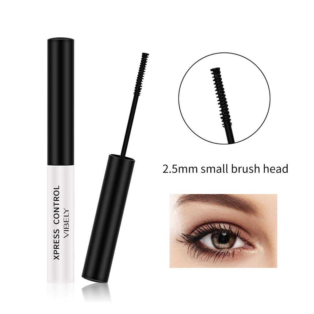 Higher Definition Eyelashes To Enhance The Overall Look To Create Glamorous And Flawless Eyelashes Fcostume Black Waterproof Makeup Eyelashes Long Curl Mascara Eyelashes Provide Longer
