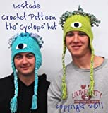 Cyclops Monster Hat Crochet Pattern Teen and Adult size
