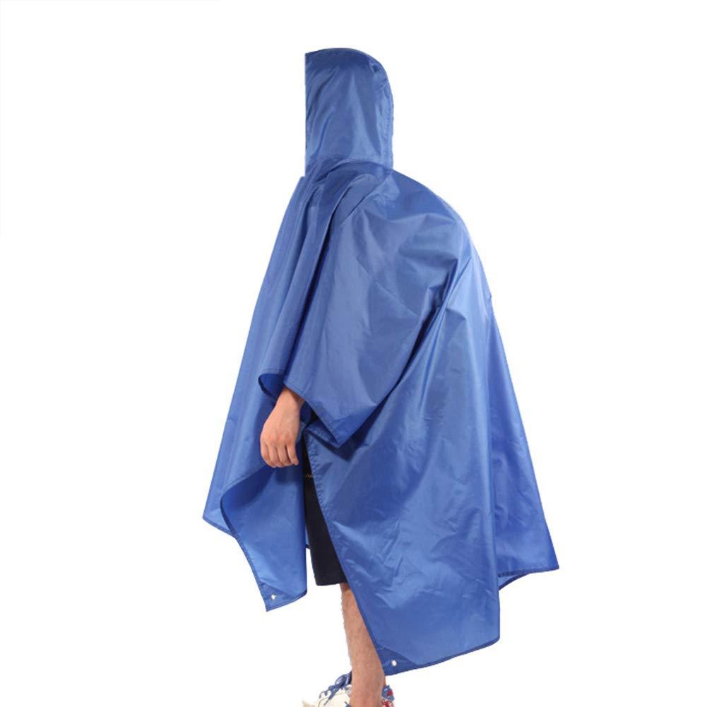 Raincoat, Multi-Purpose Backpack Raincoat, Waterproof Raincoat, Tent mat, Awning, Suitable for Outdoor Activities.