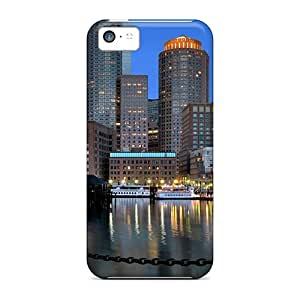 New Arrival Boston Skyline For Iphone 5c Case Cover